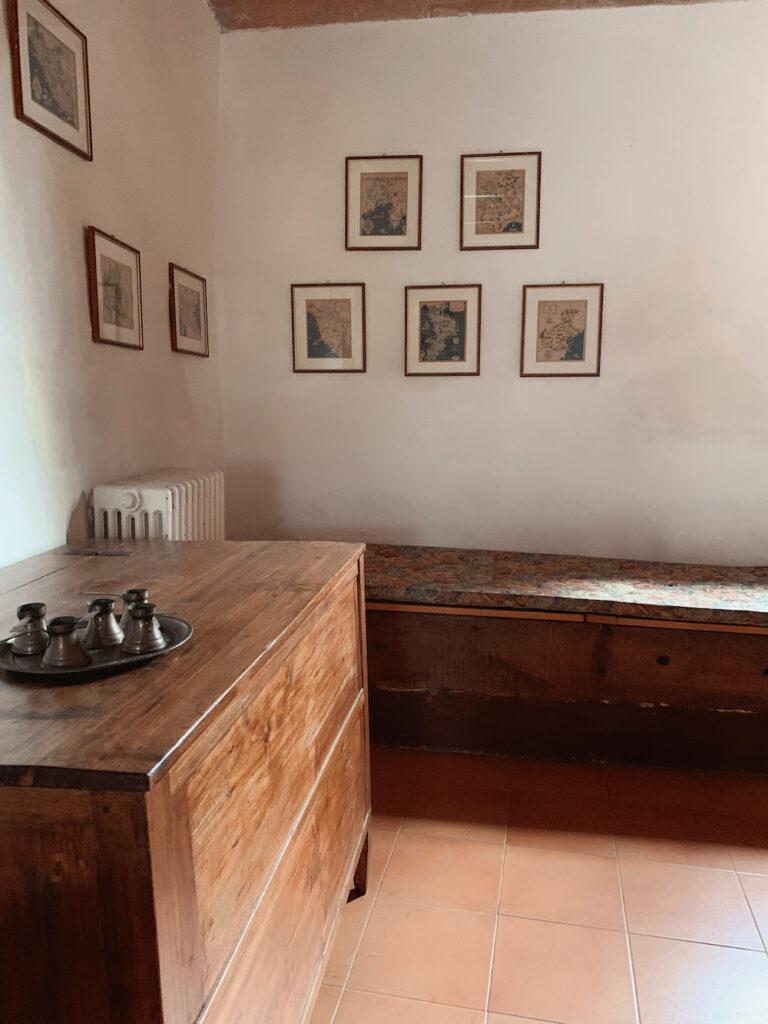 Indenfor i Huset i Toscana