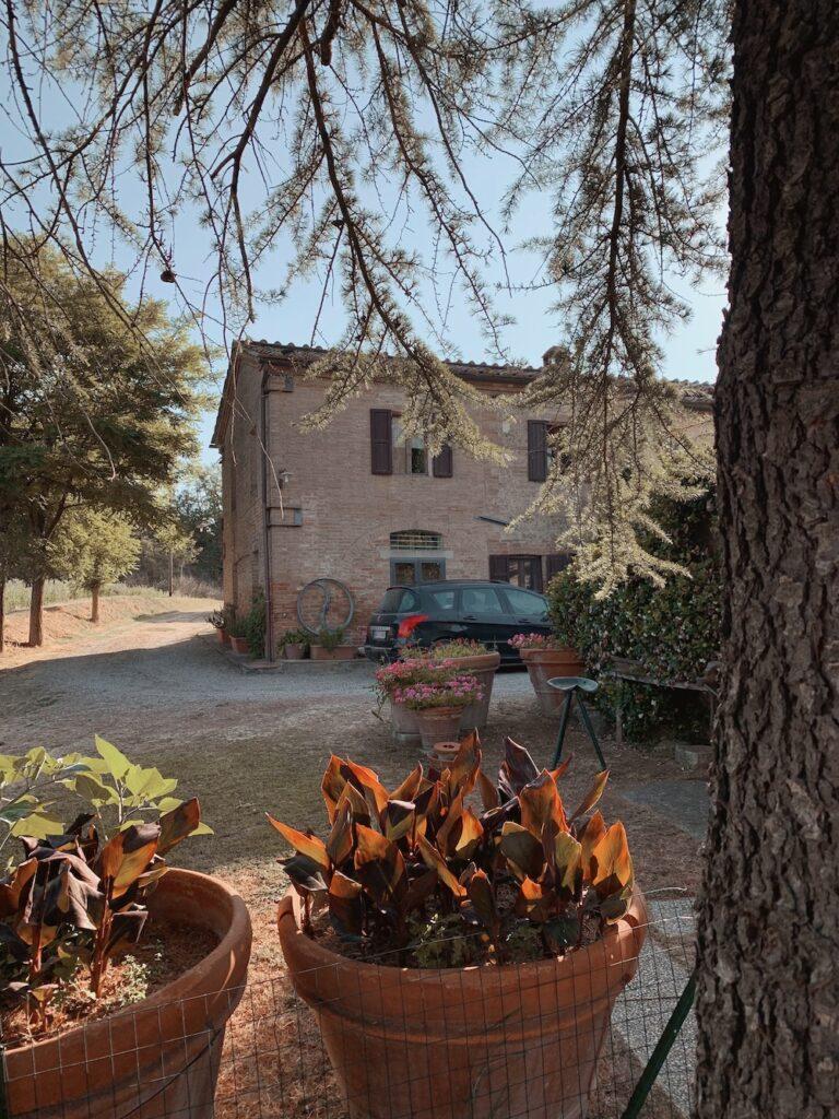 Vores hus i Toscana